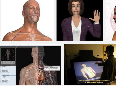 virtual human, agent, assistant
