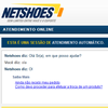 chatbot, conversational agent, chatterbot, virtual agent Loja Netshoes