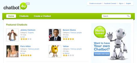 Chatbot4U Chatbot For You Platform