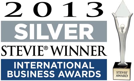 2013 International Business Awards Silver Winner