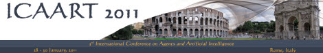 International Conference on Agents and Artificial Intelligence (ICAART)