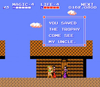 Adventure of Link screenshot