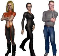 Human-like avatars