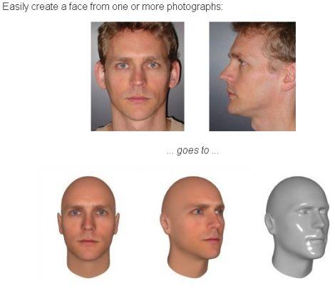 Talking Head - face generator