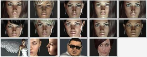 Examples of Virtual People